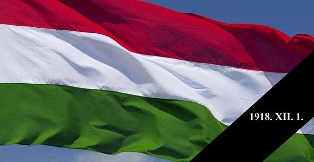 1918. december 1. Az újkori magyar történelem kettős gyásznapja