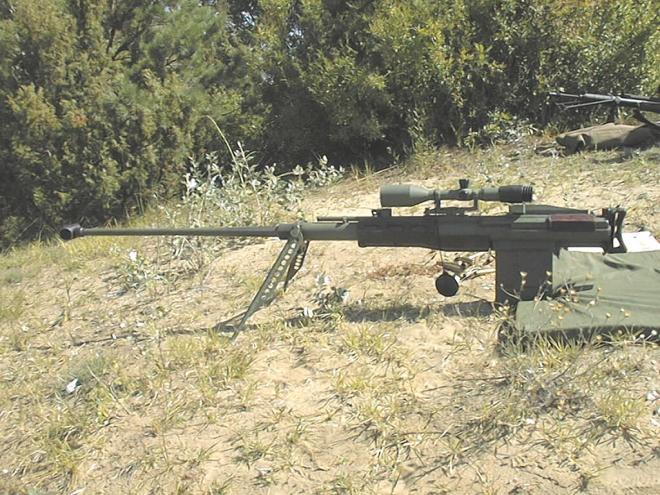 Gepárd M3-as nehéz romboló puska, 14,5mm-es kaliberben.