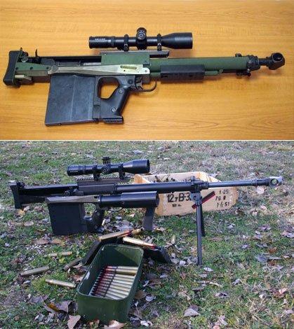 Az M6-os szállítási, illetve tüzelési helyzetben.