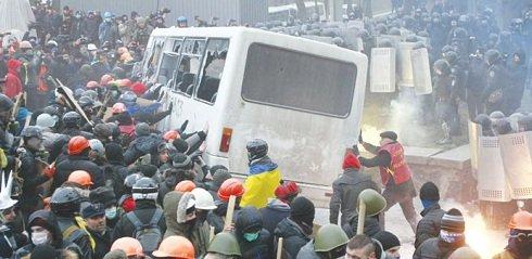 Kijev-zavargás
