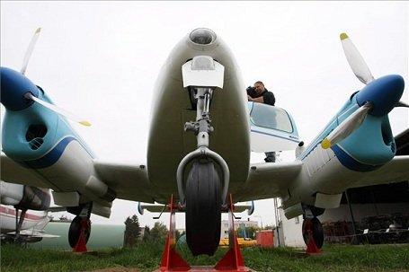 Szolnok - L-200D Morava repülőgépet újítottak fel