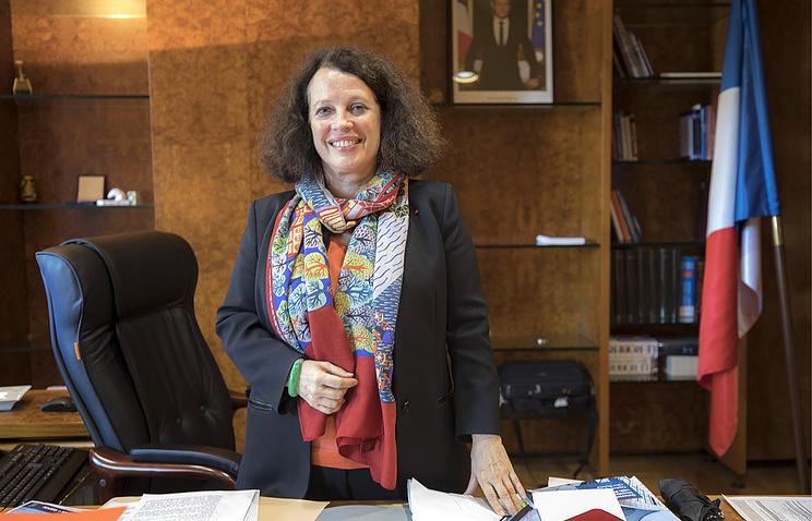 Sylvie Bermann, Franciaország oroszországi nagykövete  - Fotó: TASS/Misha Japarizze