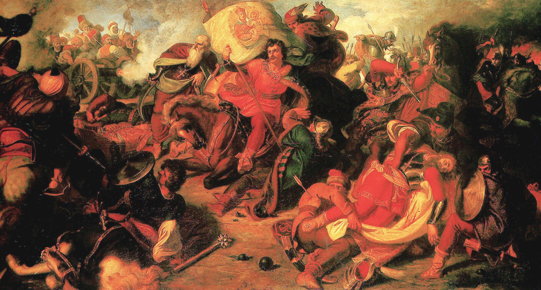 Festmény: Than Mór: A mohácsi csata