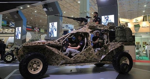 Bemutatták Groznijban a Chaborz M6-ot