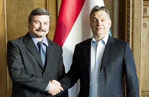 Orbán Viktor a keddi magyar-szlovák csúcs előtt Berényi Józseffel tárgyalt