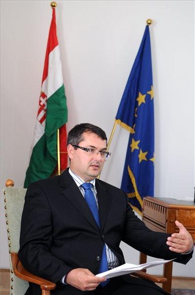 Patyi Gergely, az Igazságügyi Minisztérium igazságügyi kapcsolatokért felelős államtitkára