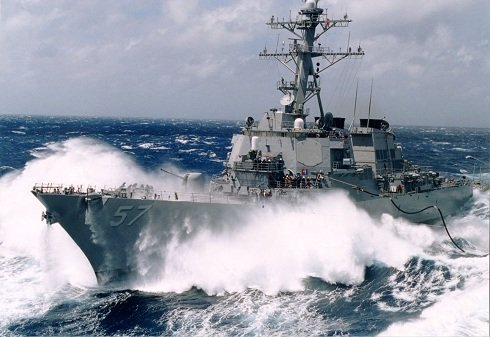 Ukrán-válság- A Fekete-tengerre tart, a Donald Cook amerikai romboló