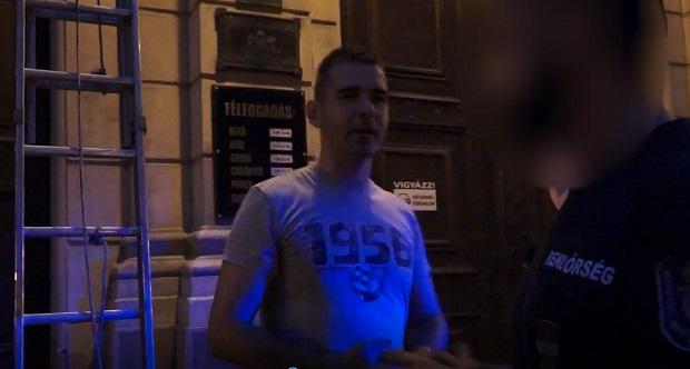 Fotó: Mi Hazánk Mozgalom videófelvételéből.
