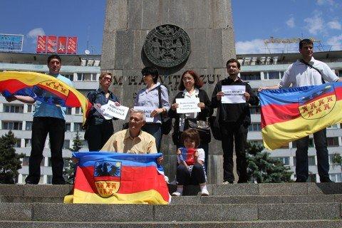 Kolozsvár: románok tüntettek az erdélyi autonómiáért