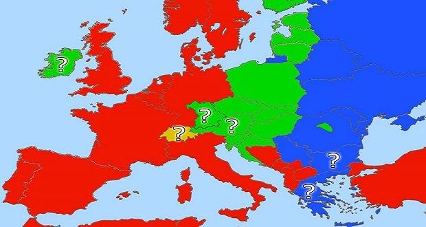 Folyamatban Európa háromfelé szakadása.