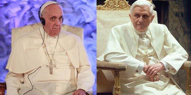 Ferenc! Elűzted Benedek pápát, hamarosan utolér a végzeted!