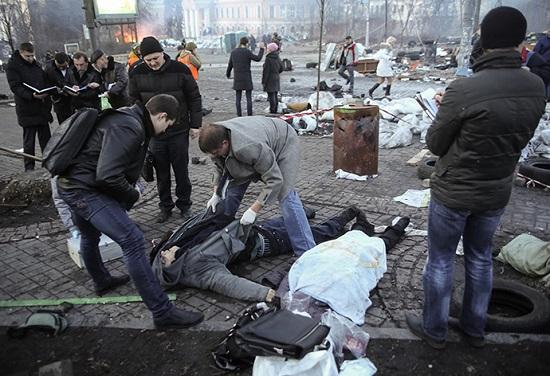 Kijev 2014.02.20. Fotó: Reuters