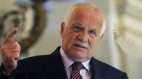 Václav Klaus: A kelet-ukrán háborút az EU és az USA élezi tovább