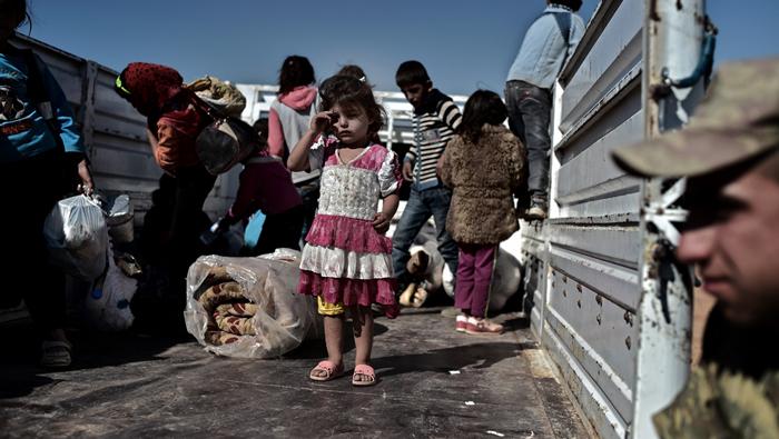 Menekülési kísérlet az ostromlott városból.