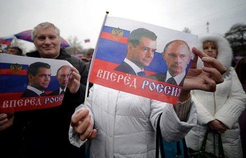 Krím- a szavazók 93 százaléka voksolt az Oroszországhoz való csatlakozásra