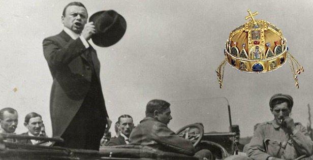 Kun Béla el akarta adni a Szent Koronát egy müncheni ócskásnak
