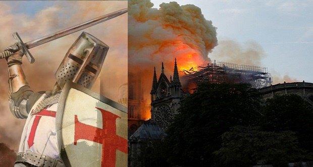 Lángoló Notre Dame – Ma kardot kell fogni a hitért