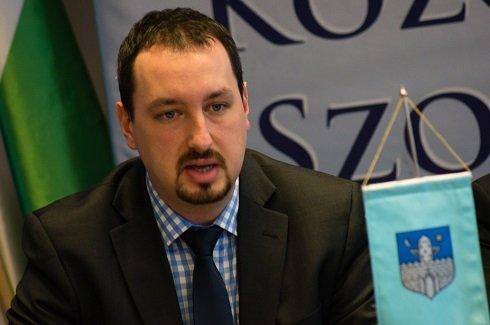 Lazáry Viktort, Szombathely fideszes alpolgármestere - Fotó:friss.hu