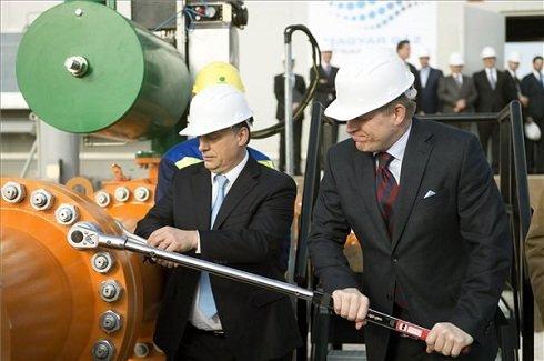 Összekapcsolták a magyar és a szlovák földgázhálózatot