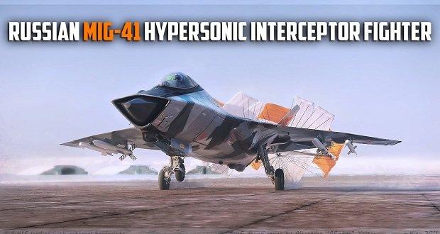 MiG-41 a sztratoszféra vadász.