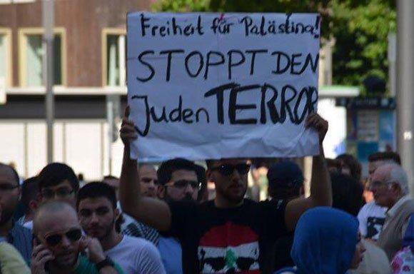 Gázai agresszió- Antiszemita tüntetések Németországban