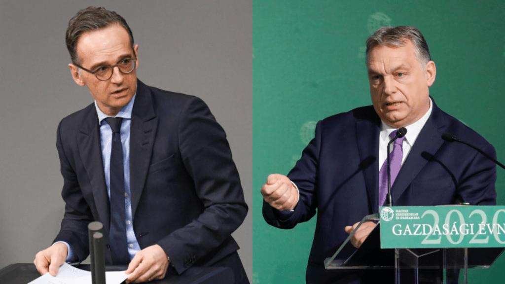 Német külügyminiszter fenyegeti Orbán Viktort, ám Ő szerencsénkre hülyékkel nem foglalkozik
