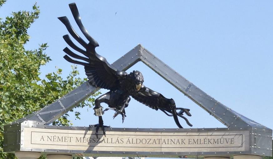A német megszállás áldozatainak emlékmûve