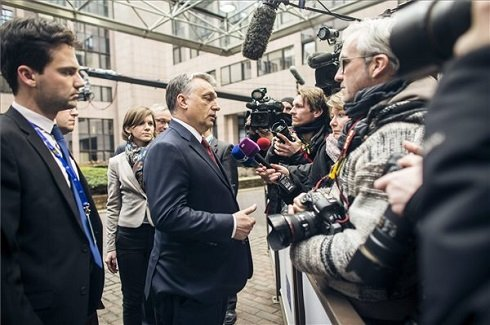 Illegális bevándorlás- Orbán Viktor miatt megszakadt az uniós csúcstalálkozó