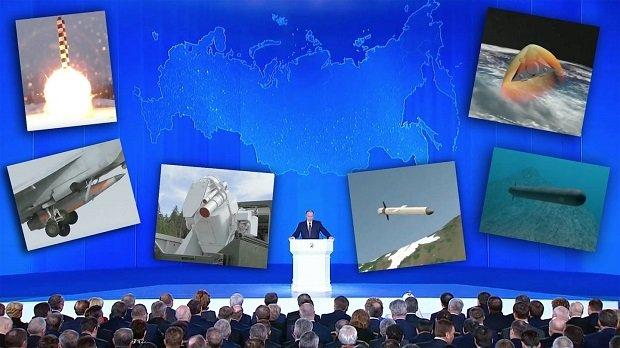 Oroszország olyan fegyverekkel rendelkezik, amilyenekkel senki más a világon