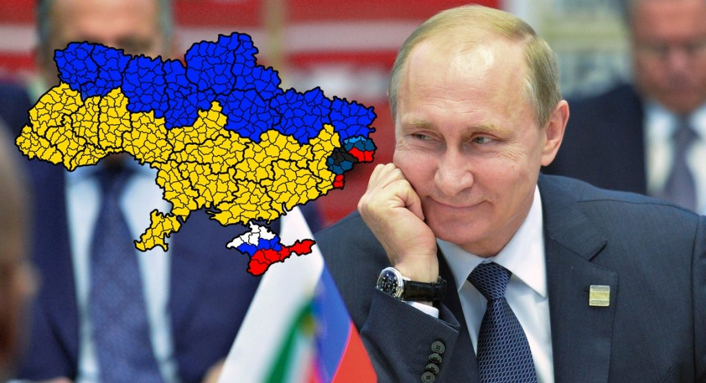 Putyin elnök megfontolt stratégiája Ukrajna kérdésében