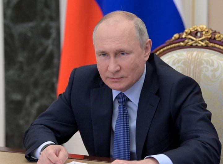 Vlagyimir Putyin orosz elnök ©  Sputnik / Aleksey Nikolskyi