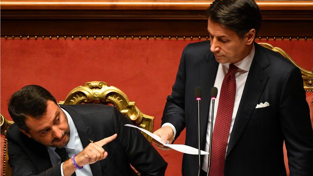 Salvini szerint eladták olaszországpt