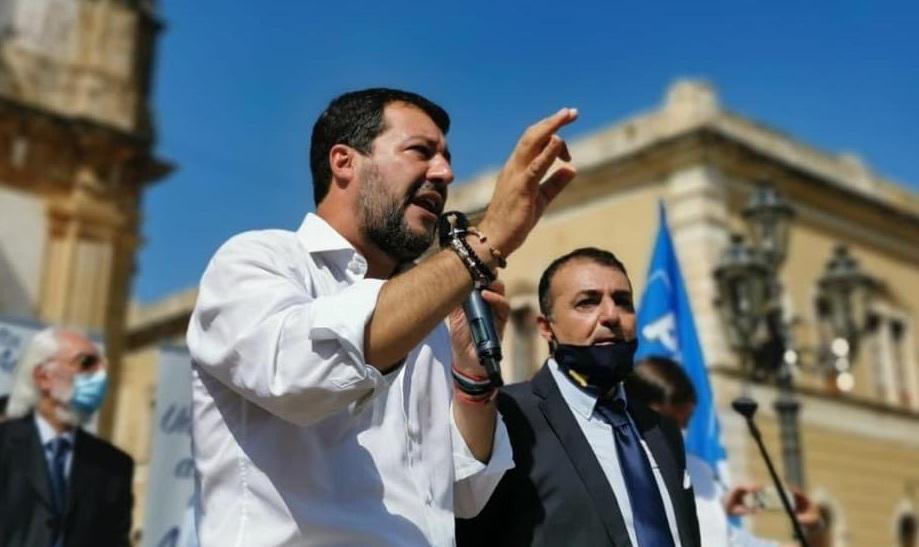 Fotó: Matteo Salvini hivatalos oldala