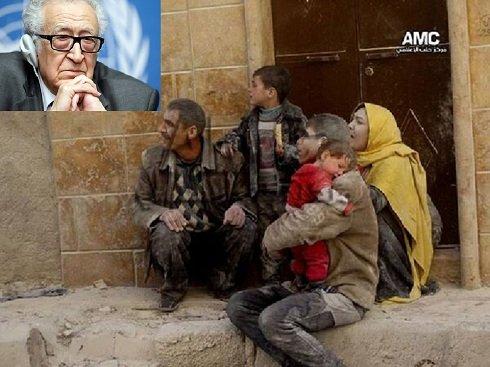 Szíriai háború- A nemzetközi közvetítő bocsánatot kért a szír néptől