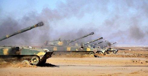 szíriai-kormányerők