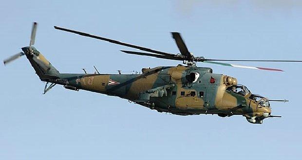Visszaérkeztek Oroszországból Mi-24-es harci helikoptereink