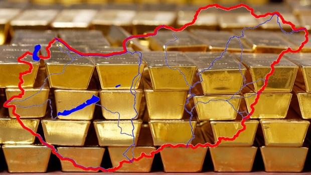 Visszakerült Magyarországra az aranytartalék