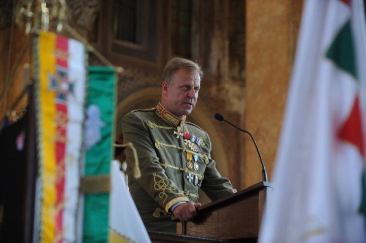 vitéz Molnár-Gazsó János, a Vitézi Rend főkapitánya