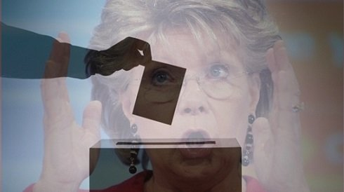 Választási csalás előkészítésének gyanúját vetik fel a Magyar Nemzetben Viviane Redingről megjelentek